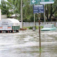 Más de diez localidades de la provincia están inundadas por la tormenta
