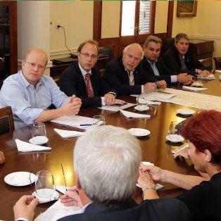 El gobernadorrecibió a productores de la Carsfe afectados por la emergencia hídrica.