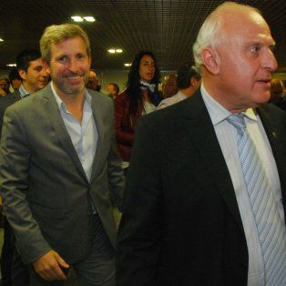 El gobernador de Santa Fe y el ministro del Interior se encontrarán esta tarde en Buenos Aires.