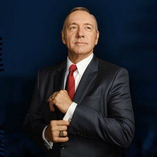 Kevin Spacey es el protagonista de la popular serie de Netflix House of Cards.