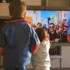 Thiago y Mateo, los hijos de Messi, tienen una nueva pasión: el baile.