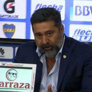 El presidente de Boca, Daniel Angelici, aseguró:Si veo que los arbitrajes nos perjudican, volvería a llamar.