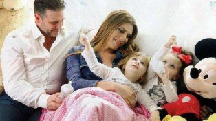 Flor de la V se accidentó junto a toda su familia a la salida de Carlos Paz.