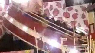 Un accidente en un samba dejó un saldo de 14 menores heridos