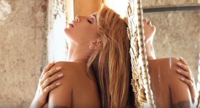 Todas las fotos de Florencia Peña que posó totalmente desnuda para levantar el rating