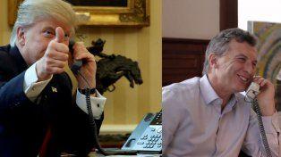 Ambos mandatarios hablaron por teléfono.