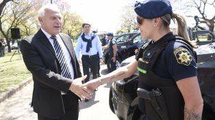 Apuesta. Miguel Lifschitz y su ministro de Seguridad
