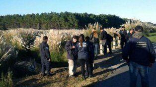 El cuerpo de la criatura fue encontrado a la vera de un arroyo en Miramar.