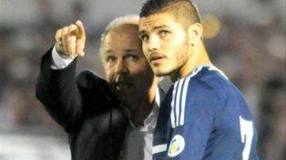 Icardi jugó en la selección en 2013 bajo la dirección técnica de Alejandro Sabella.