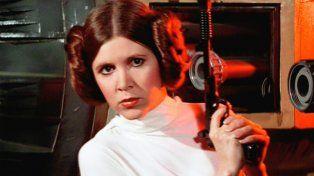 Carrie Fisher como La princesa Leia en Star Wars