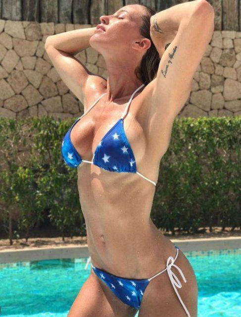 Rocío Guirao Díaz recibió una catarata de piropos por una serie de fotos en bikini