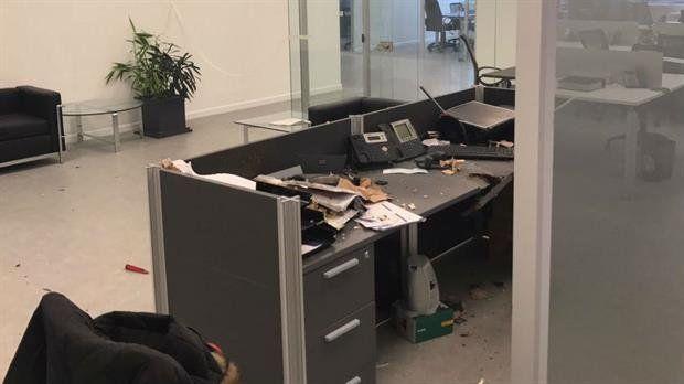 El sobre habría llegado inicialmente a oficinas que anteriormente ocupó la empresa