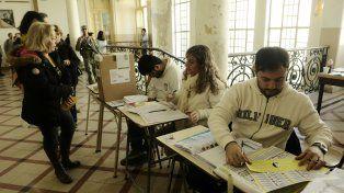 Las eleeciones primarias se realizaron con normalidad.