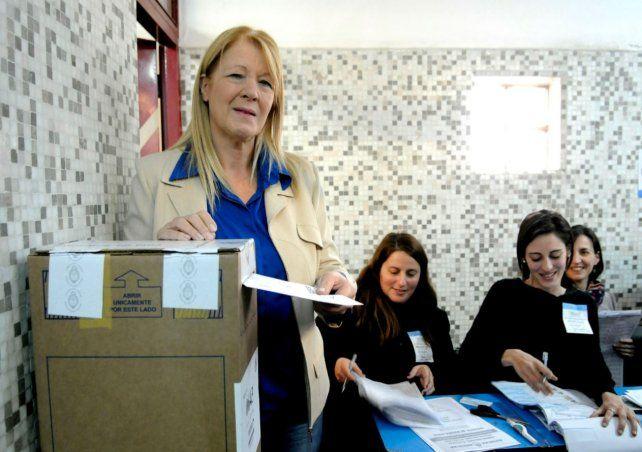 Es lamentable que haya precandidatos que no votan, le disparó Stolbizer a Cristina