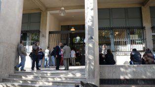 Los Tribunales de San Juan, donde se lleva adelante la imputación.