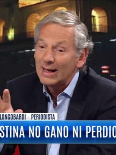 Estoy harto de que el país gire todo el tiempo alrededor de Cristina, dijo Longobardi
