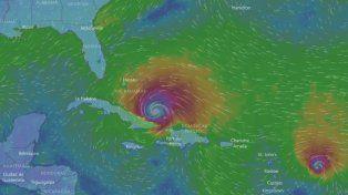 La trayectoria del huracán Irma se puede seguir en vivo por la web