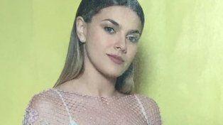 Natalie Pérez no tuvo tiempo para probarse un vestido para las fotos y estalló en llanto