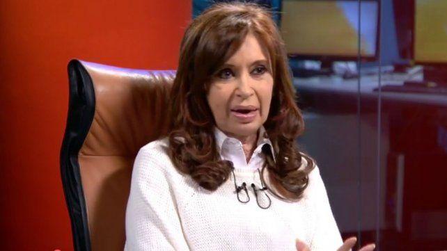Cristina Kirchner: En Argentina no hay Estado de derecho
