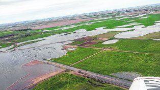 Golpe productivo. Provincia de Buenos Aires y La Pampa fueron las más afectadas en esta ocasión.