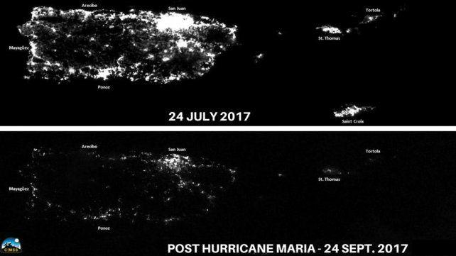 Impactantes imágenes de Puerto Rico después del paso del huracán Maria