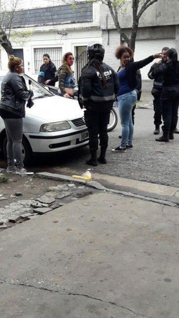 Feroz ataque de una travesti a una prostituta en Rosario