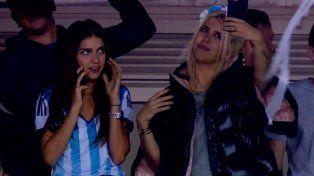 El percance de Wanda y Zaira Nara cuando iban camino a la Bombonera a ver la selección