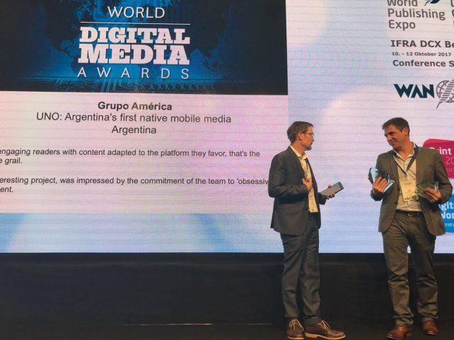 UNO ganó las categorías a Mejor nuevo producto y Mejor engagement en Redes Sociales.