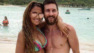 Antonela Roccuzzo anticipó un recibimiento amoroso para Messi