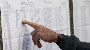 Consultá el padrón electoral para saber dónde votás el próximo domingo