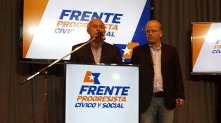 El gobernador Miguel Lifschitz dio a conocer las mesas testigo del socialismo junto a Luis Contigiani.