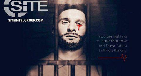 No llores por mí Argentina. La imagen de Messi publicada por EI.