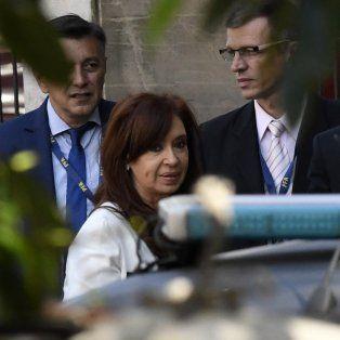 La expresidenta Cristina Fernández de Kirchner, cara a cara con Bonadio.