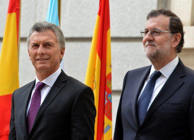 Apoyo. El gobierno argentino respaldó al español frente al conflicto con Cataluña.