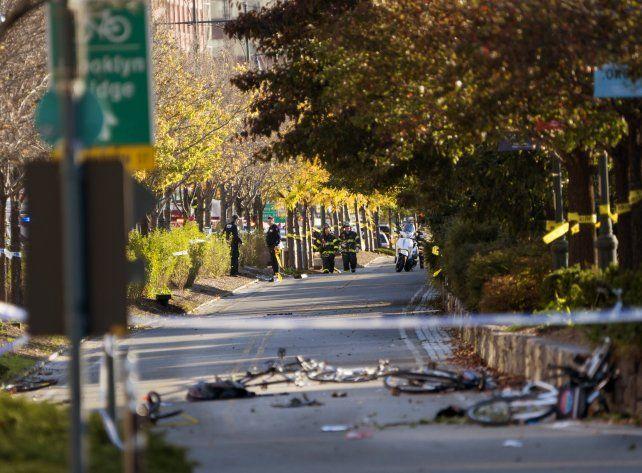 Hay argentinos entre las víctimas del atentado en Nueva York que dejó 8 muertos