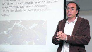 nutrición. El vicepresidente de la Asociación Civil Fertilizar, Jorge Bassi.