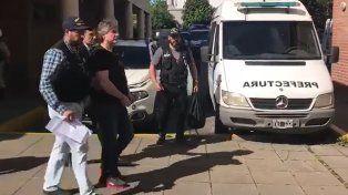 El video de la detención de Amado Boudou en su departamento de Puerto Madero