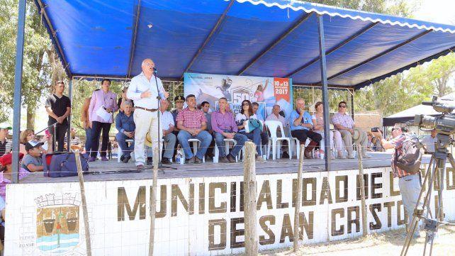 El gobernador Lifschitz inauguró hoy en San Cristóbal la 50º Fiesta Nacional del Caballo.