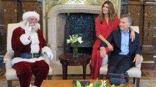 Macri envió un mensaje a la madrugada y contó el regalo que recibió en Navidad