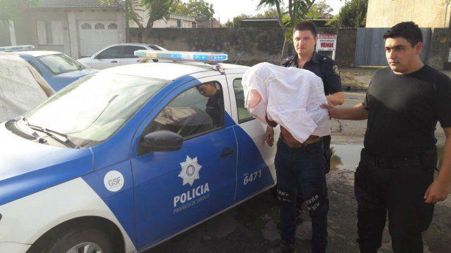 La policía santafesina buscaba a un ladrón de motos y hallaron un vivero de marihuana