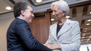 La jefa. Dujovne con Lagarde, que en breve llegará a la Argentina.