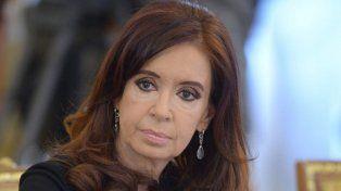 Señalada. A Cristina la acusan por supuesto lavado de dinero.