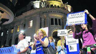 protestas. Los tarifazos motivaron movilizaciones en todo el país.