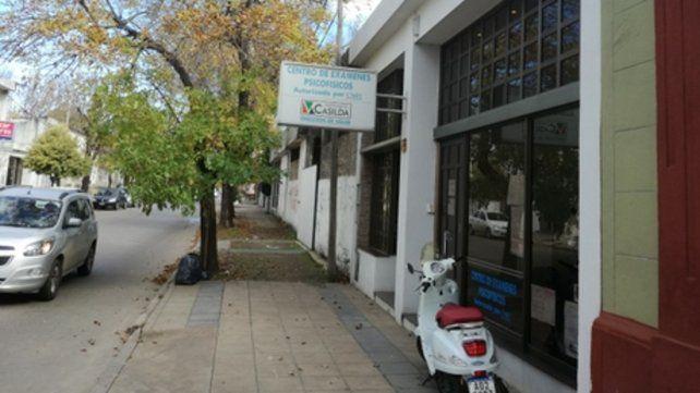 Cuestionado. El Centro de Exámenes Psicofísicos de Casilda donde se realizaron los estudios que supuestamente fueron cambiados o mal realizados.