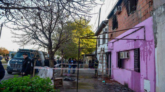 El trágico desenlace del incendio causó conmoción en el barrio.