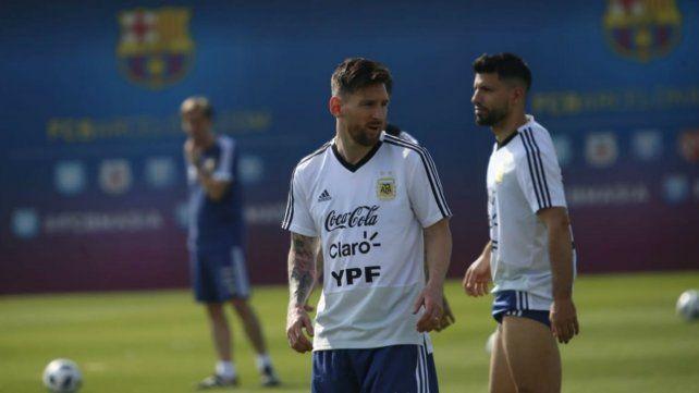 La selección ya tuvo su primera práctica en Barcelona