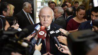 Un daño.El gobernador santafesino se refirió a la liberación de Hugo Tognoli.