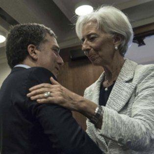 Dujovne y Lagarde, los artífices del acuerdo con el Fondo Monetario Internacional (FMI).