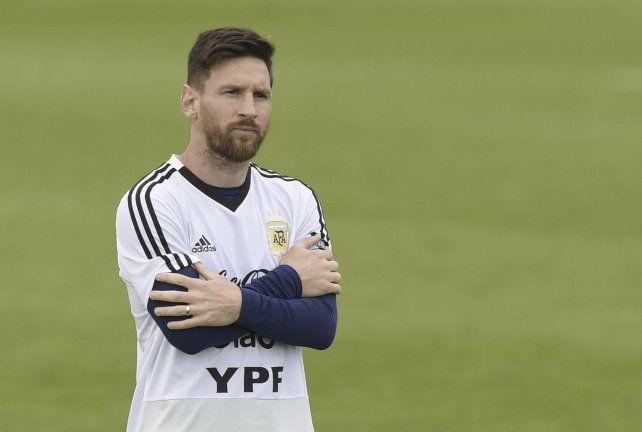 Control antidoping sorpresa para Messi y otros cinco futbolistas de la Selección
