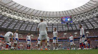 Las mejores imágenes de la ceremonia inaugural del Mundial de Rusia 2018